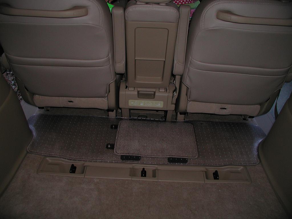 Rubber floor mats minivan - All Weather Mats 2006odysseyrow3mat Jpg