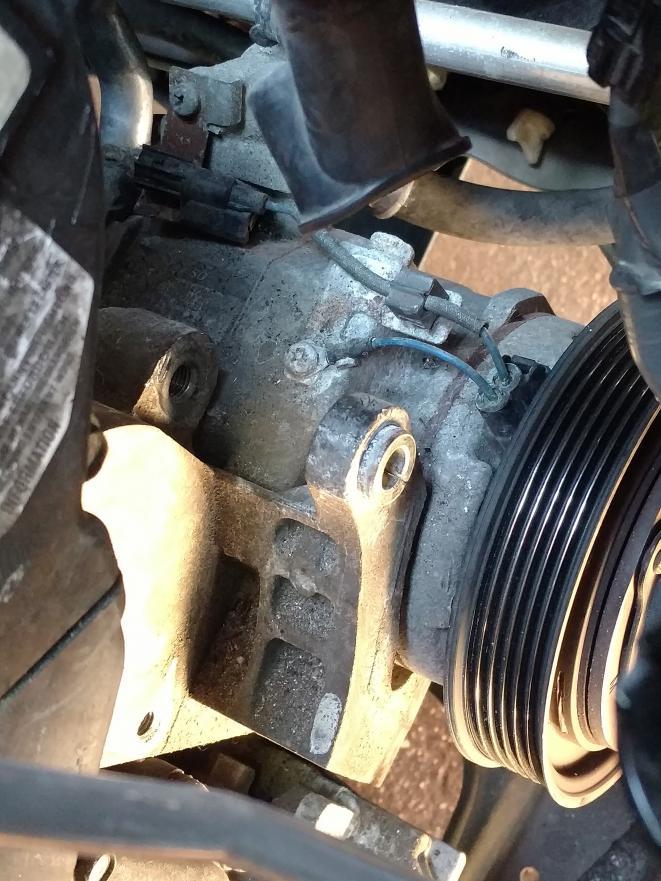 Alternator Stuck On Lower Bolt Bushing Can T Remove 2010
