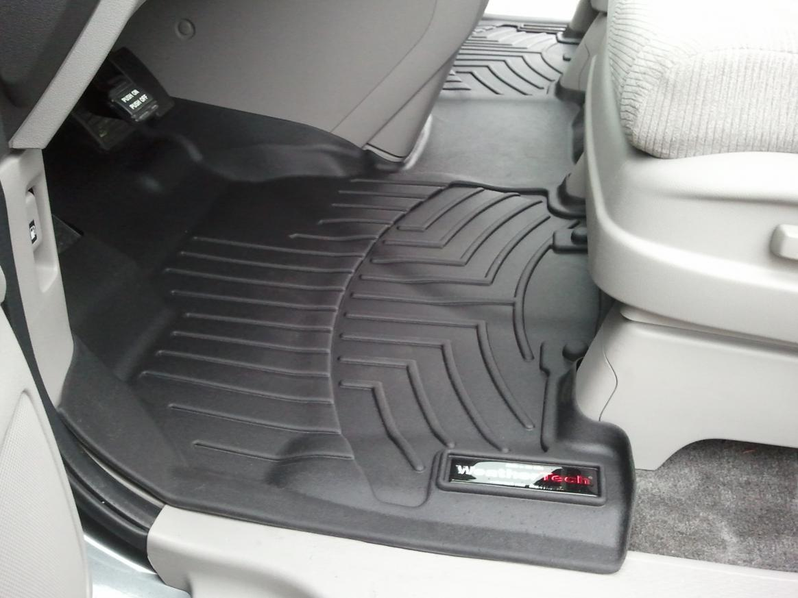 Weathertech mats london ontario -  2011 Odyssey Weathertech Digitalfit Complete Set Over The Hump Pictures 2011