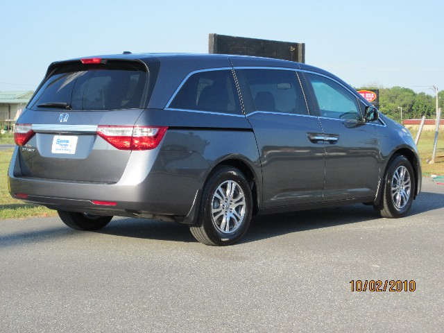 Prices Paid For A 2011 Odyssey 2011 Ex L Rear
