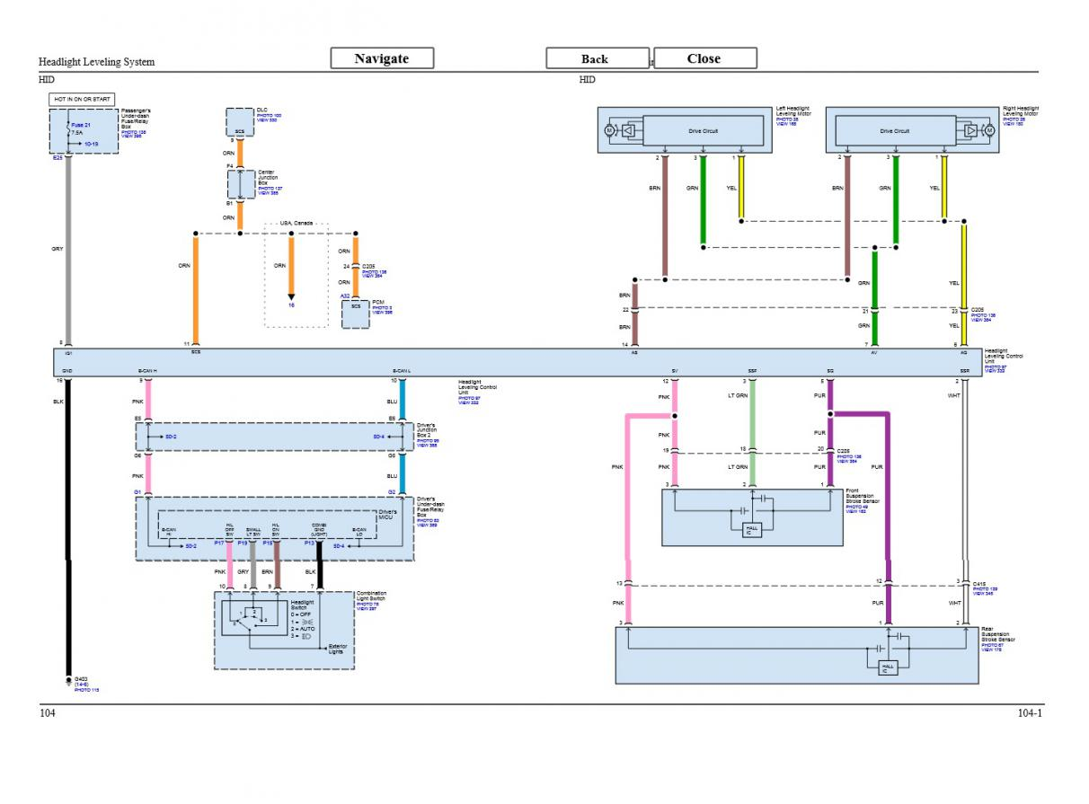 Hid Ballast Schematic Simple Guide About Wiring Diagram Headlight Manual Level Explore Lights