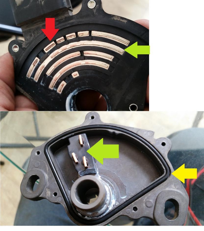2010 Honda Odyssey Transmission: P1717 Transmission Range Switch (Safety Neutral Switch