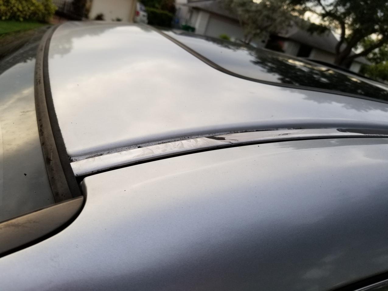 2010 Ody Exl Roof Seam Strips Honda Odyssey Forum