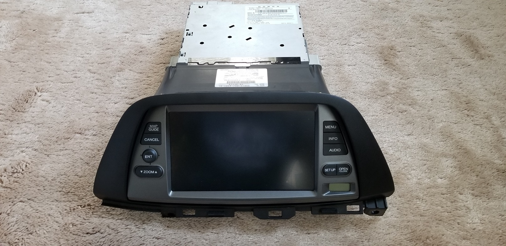 Radio  Gps  And Entertainment System For 2007 Honda Odyssey