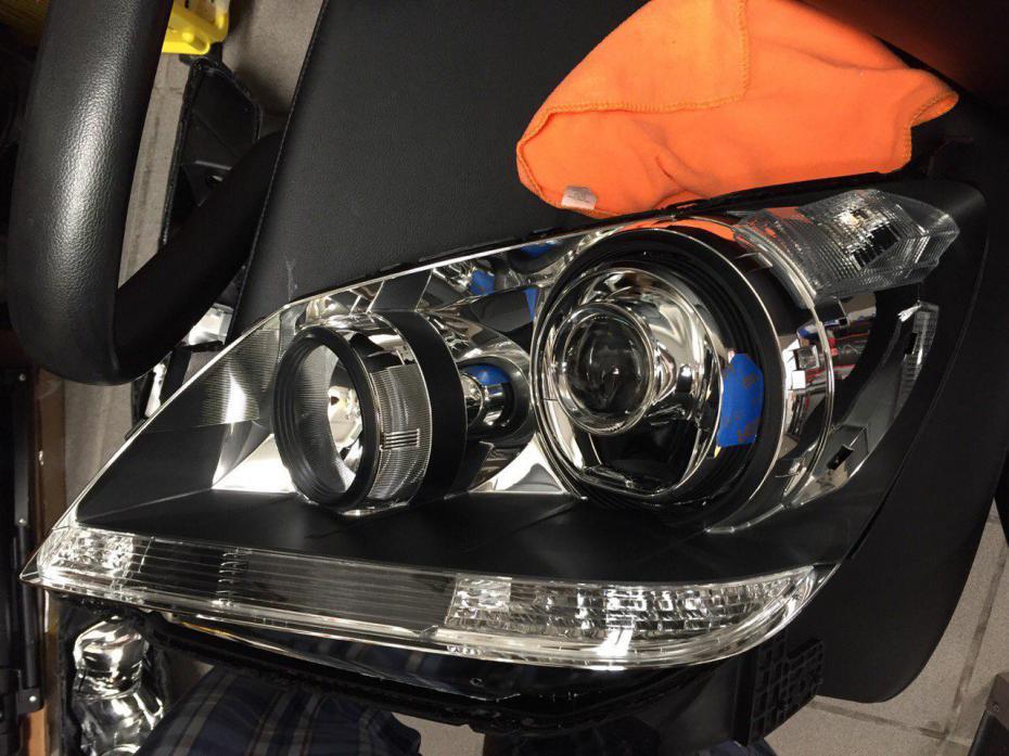 07 Odyssey Headlight Lexus Ls430 Retrofit