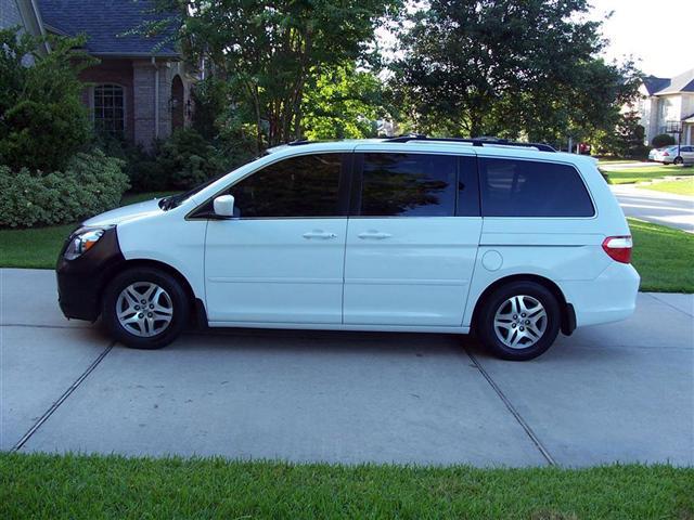 My new 2006 honda ody window tint removable for Honda window tinting