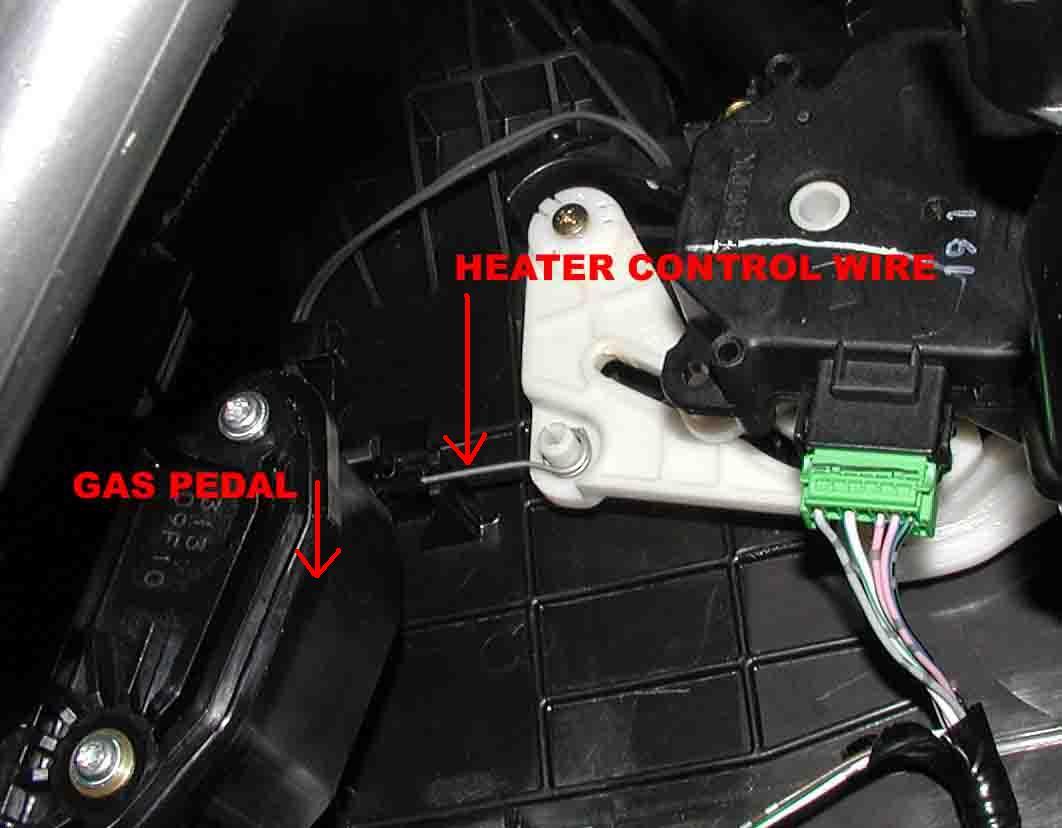 2004 silverado heater control problems
