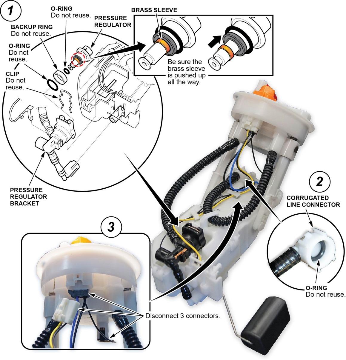 solved: hard start, long crank, fuel pressure regulator check valve (2007)  | honda odyssey forum  honda odyssey forum