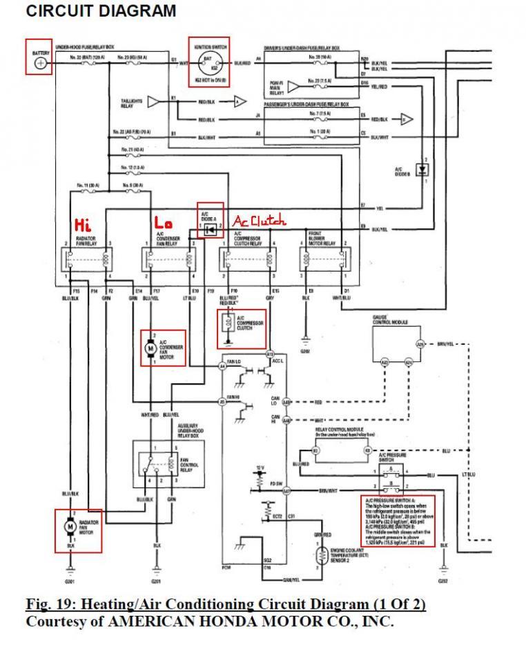 a c compressor clutch wiring diagram for honda wiring diagram post 1993 Toyota Pickup Wiring Diagram 05 compressor clutch troubleshooting ac compressor wiring diagram a c compressor clutch wiring diagram for honda