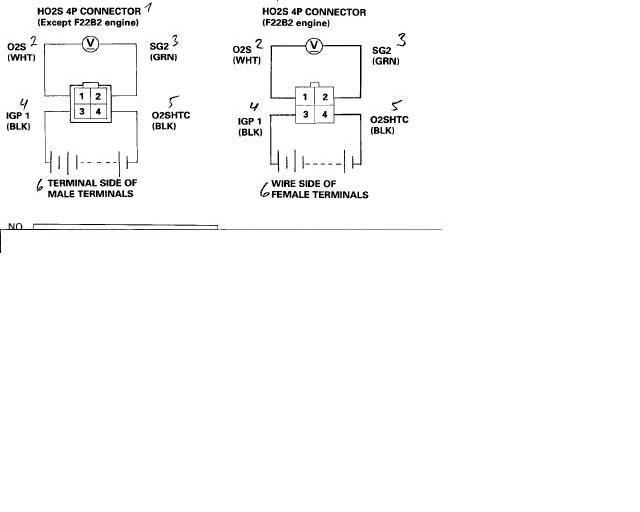 O2 Sensor Wiring Diagram Honda from www.odyclub.com