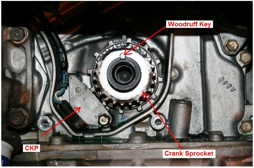 2005 odyssey front crankshaft oil seal leak | Honda Odyssey Forum