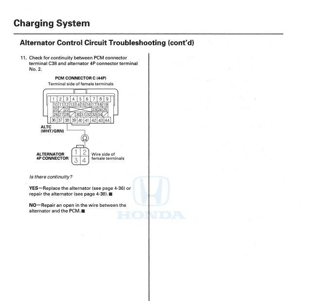 2006 Odyssey Replacement Alternator Malfunctions Like Old One Honda Odyssey Forum