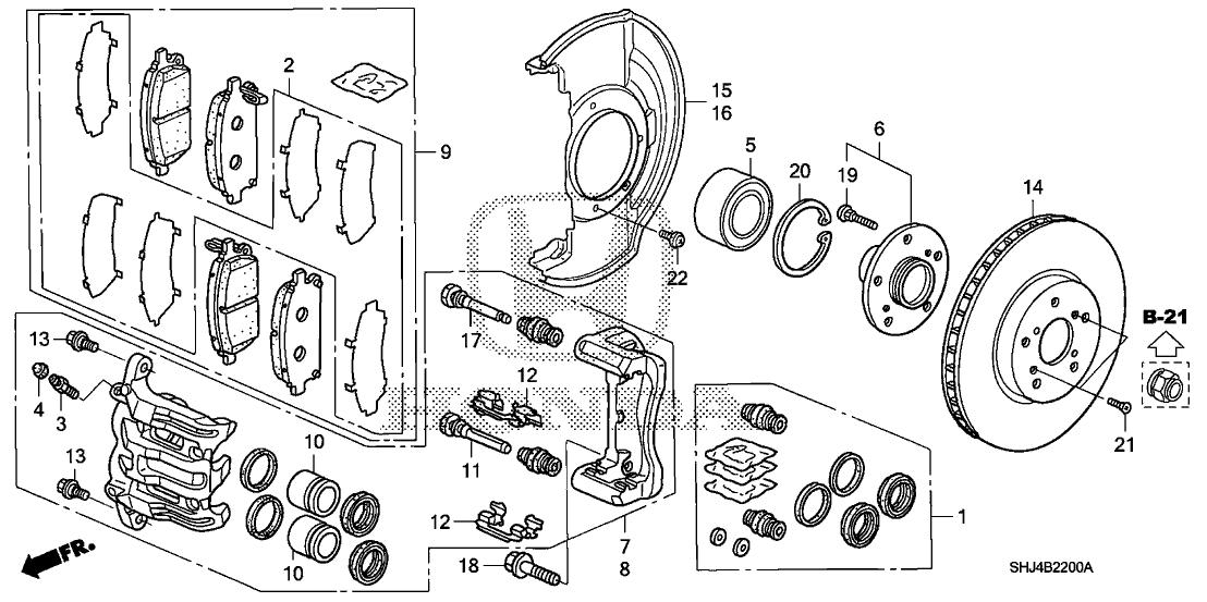 Wiring Diagram Honda Odyssey 2006