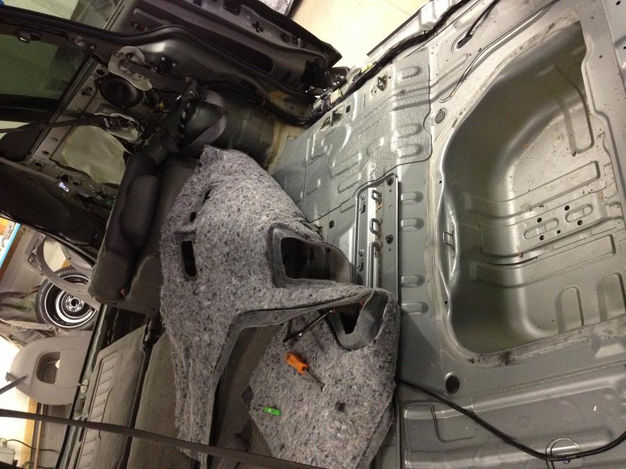 Sound Deadening My 2009 Honda Odyssey