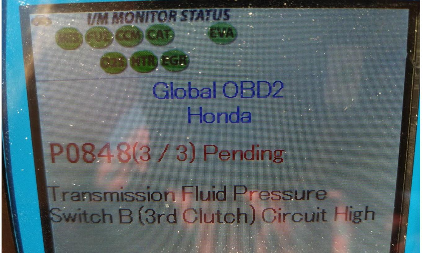 2015 Odyssey P0848 Transmission Fluid Pressure Sensorswitch B 2006 Honda Oil Switch Quotbquot Circuit
