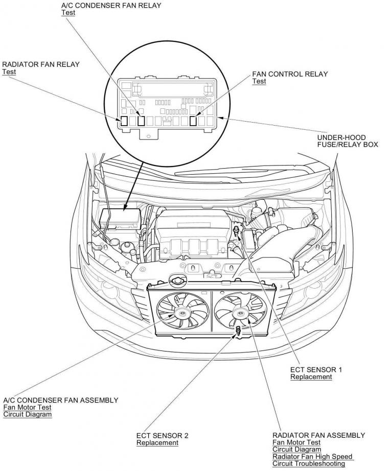 2012 With P2185 Code Helprhodyclub: Honda Odyssey Ect Sensor Wiring Diagram At Gmaili.net