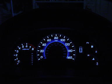 2008 Exl While Driving The Instrument Panel Lights Dim And Kmph Go Out