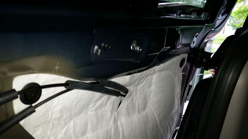 Removing Rear Sliding Door Panel Interior Of 2017