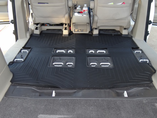 2011 Odyssey Weathertech Digitalfit Complete Set Over The Hump
