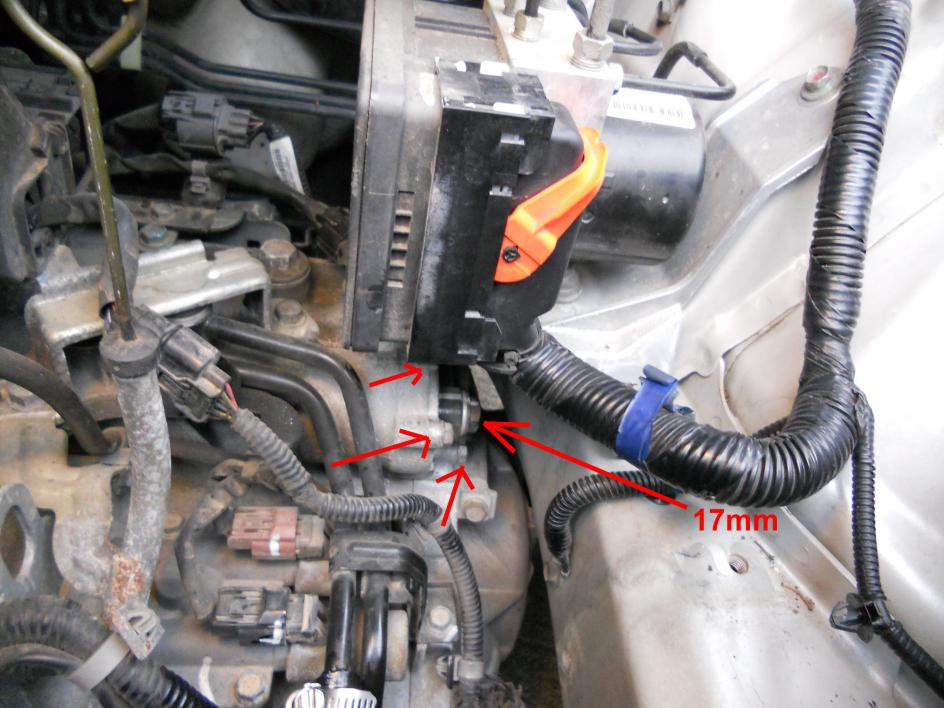 Diy Another Way To Change Your Atf Filter 2006 Odyssey