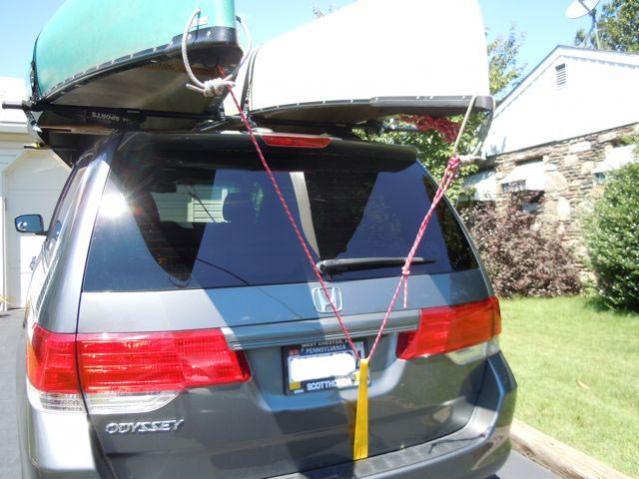 Roof Rack Cross Bar For The Front Honda Odyssey Forum