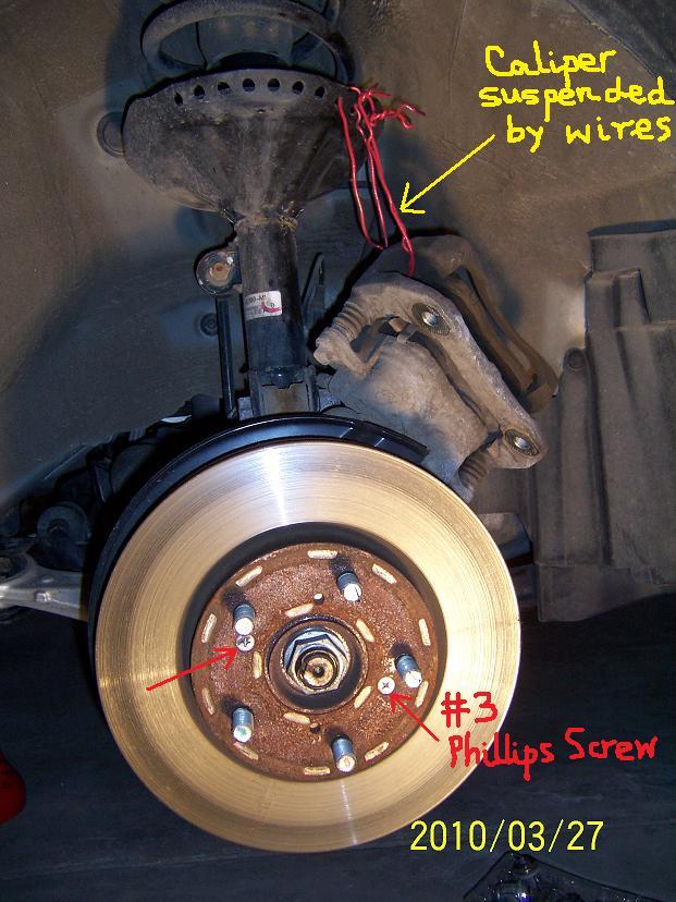 DIY: 2007 Honda Odyssey Front Brake Rotor