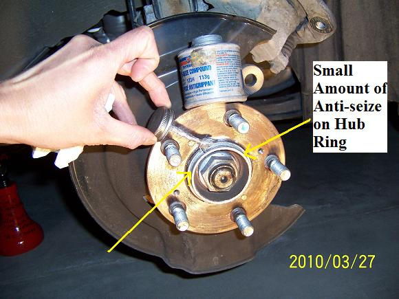 Captivating DIY: 2007 Honda Odyssey Front Brake Rotor Honda Ody Frontbrake 05