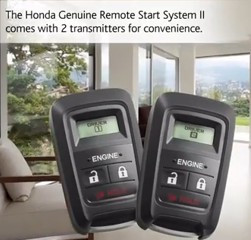 Thread: Remote Start for 2014 Odyssey