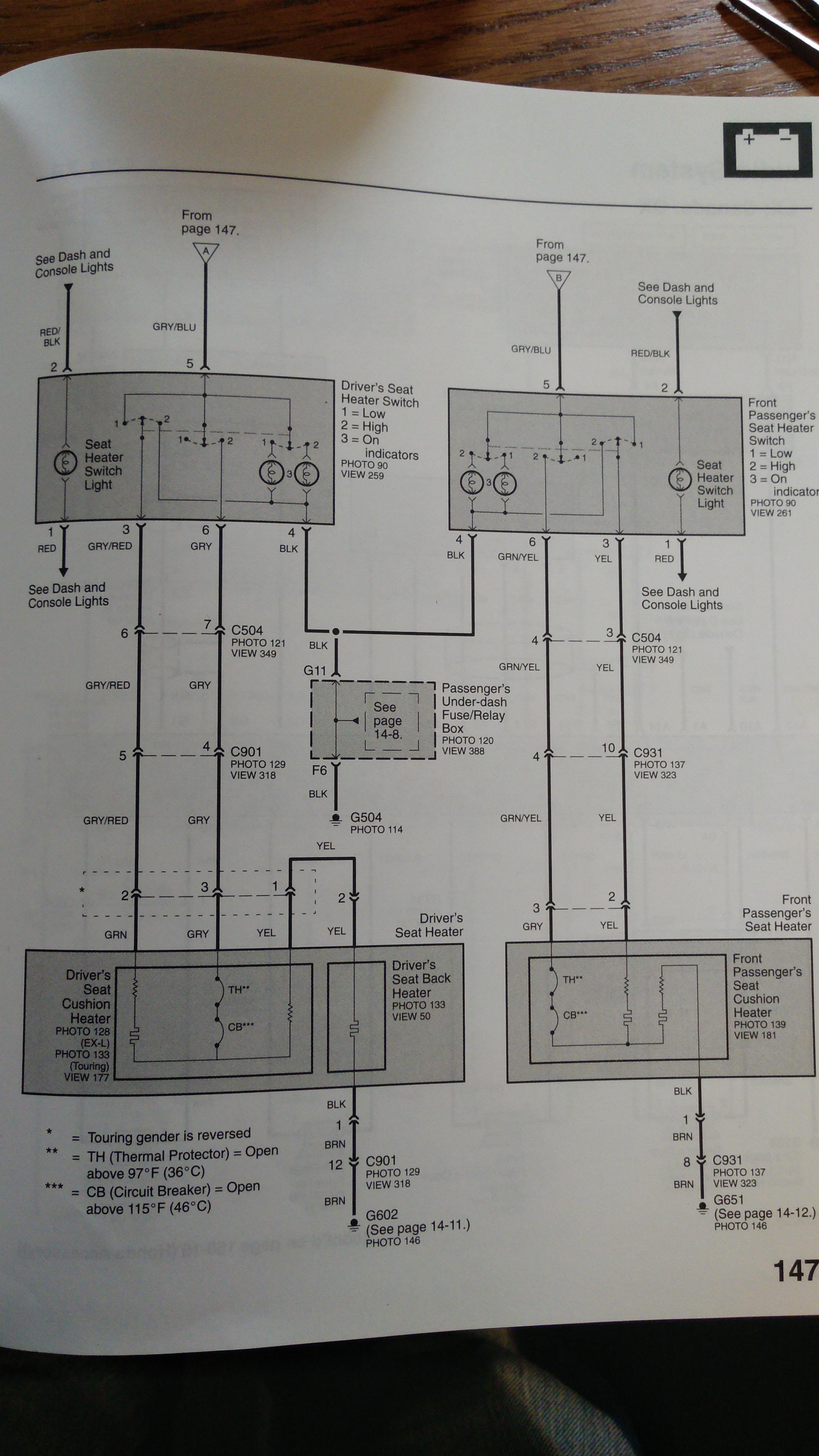 2002 Honda Odyssey Power Seat Wiring Diagram Scotts L1742 Wiring Diagram For Wiring Diagram Schematics
