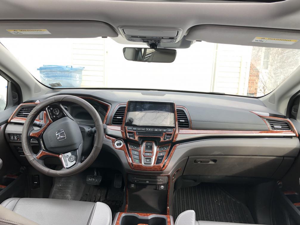 Dash Kit Installed On Honda Odyssey 2018 Elite Img 2334 Jpg