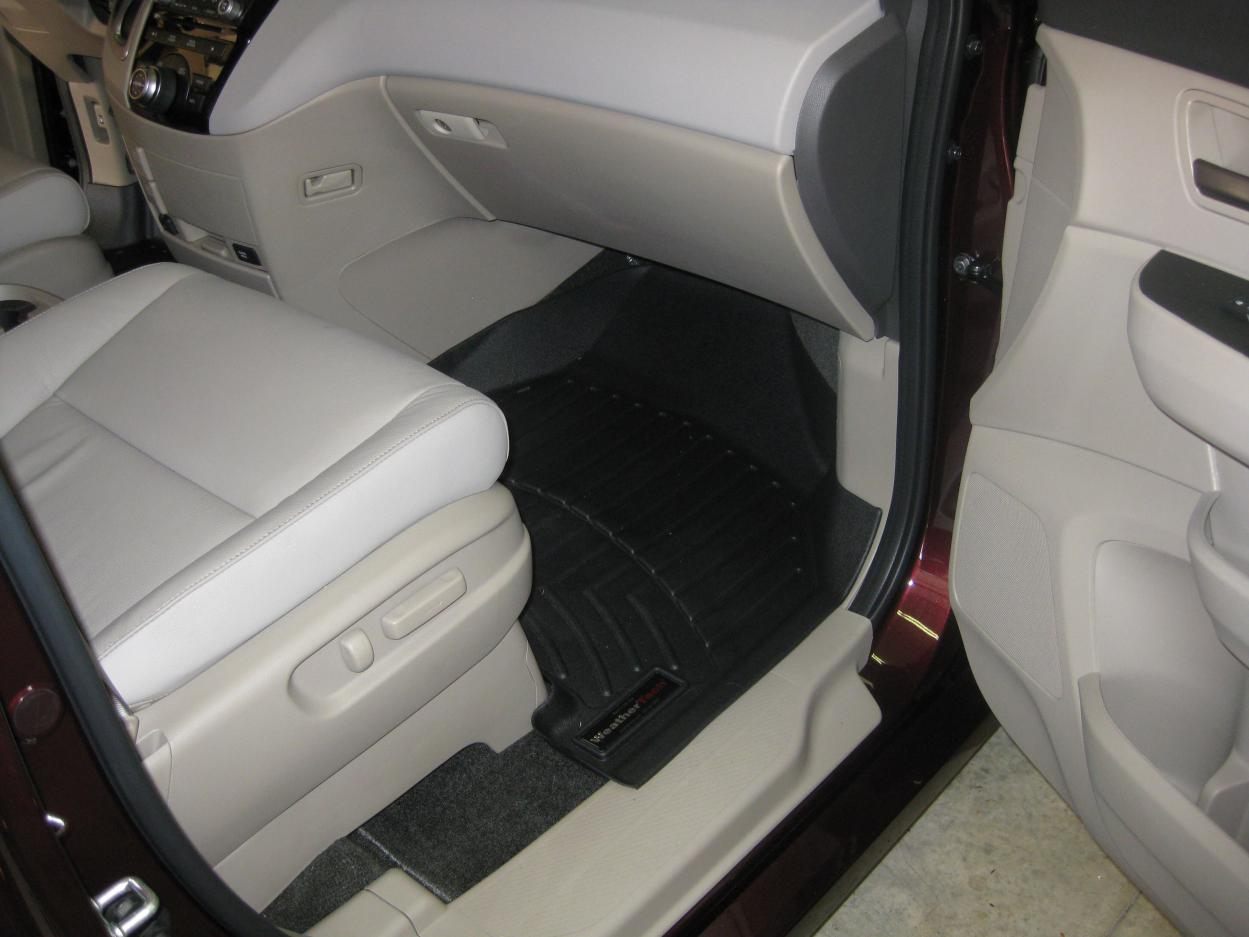 Floor mats odyssey - Img_2368 Jpg Wt Floor Mats With Beige Interior Img_2372 Jpg