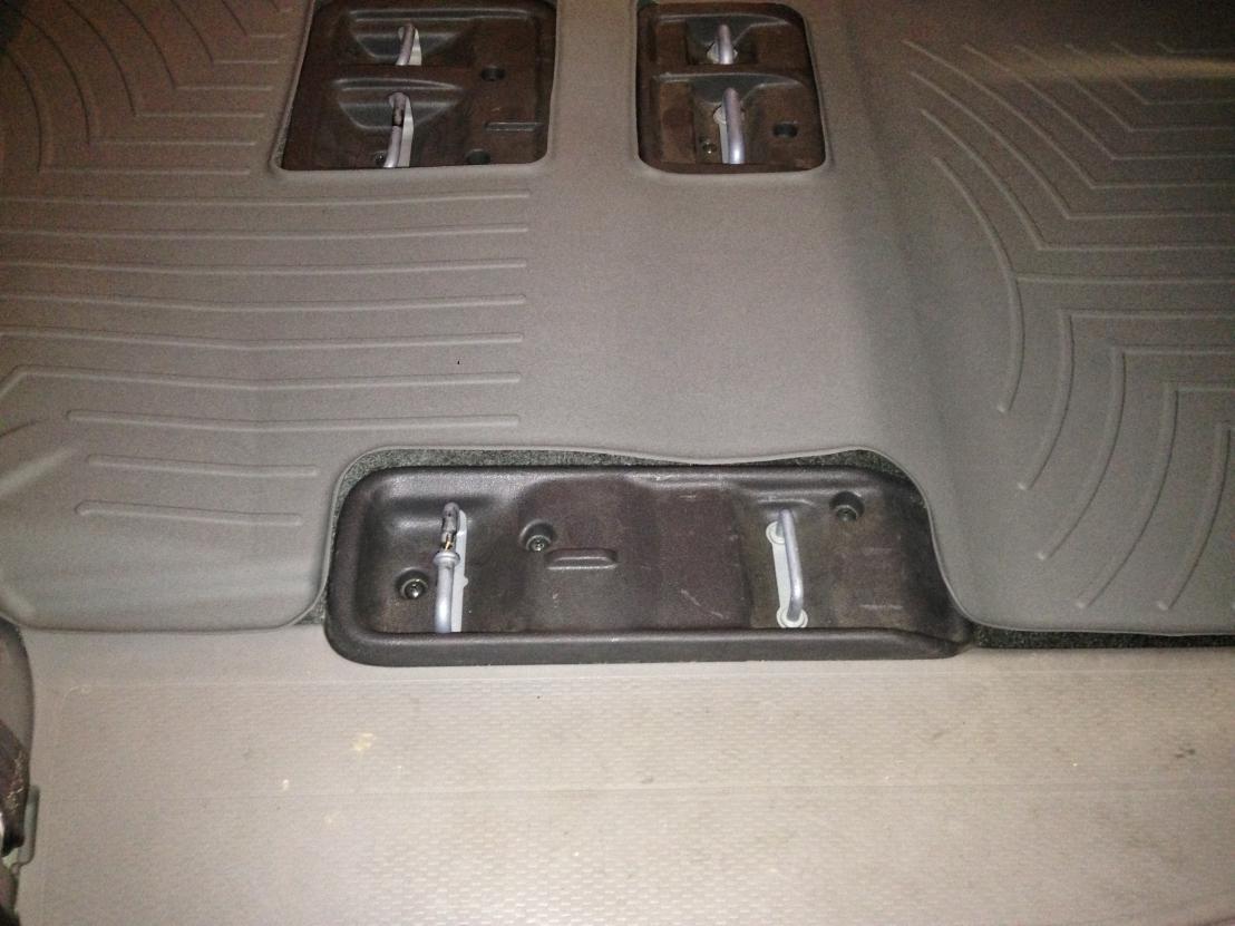 Floor mats odyssey -  Weathertech Floormats Img_2711 Jpg