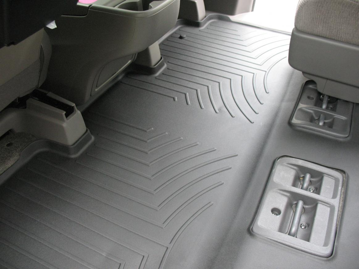 Weathertech floor mats honda odyssey 2005 - 2011 Odyssey Weathertech Digitalfit Complete Set Over The Hump Pictures Img_3885