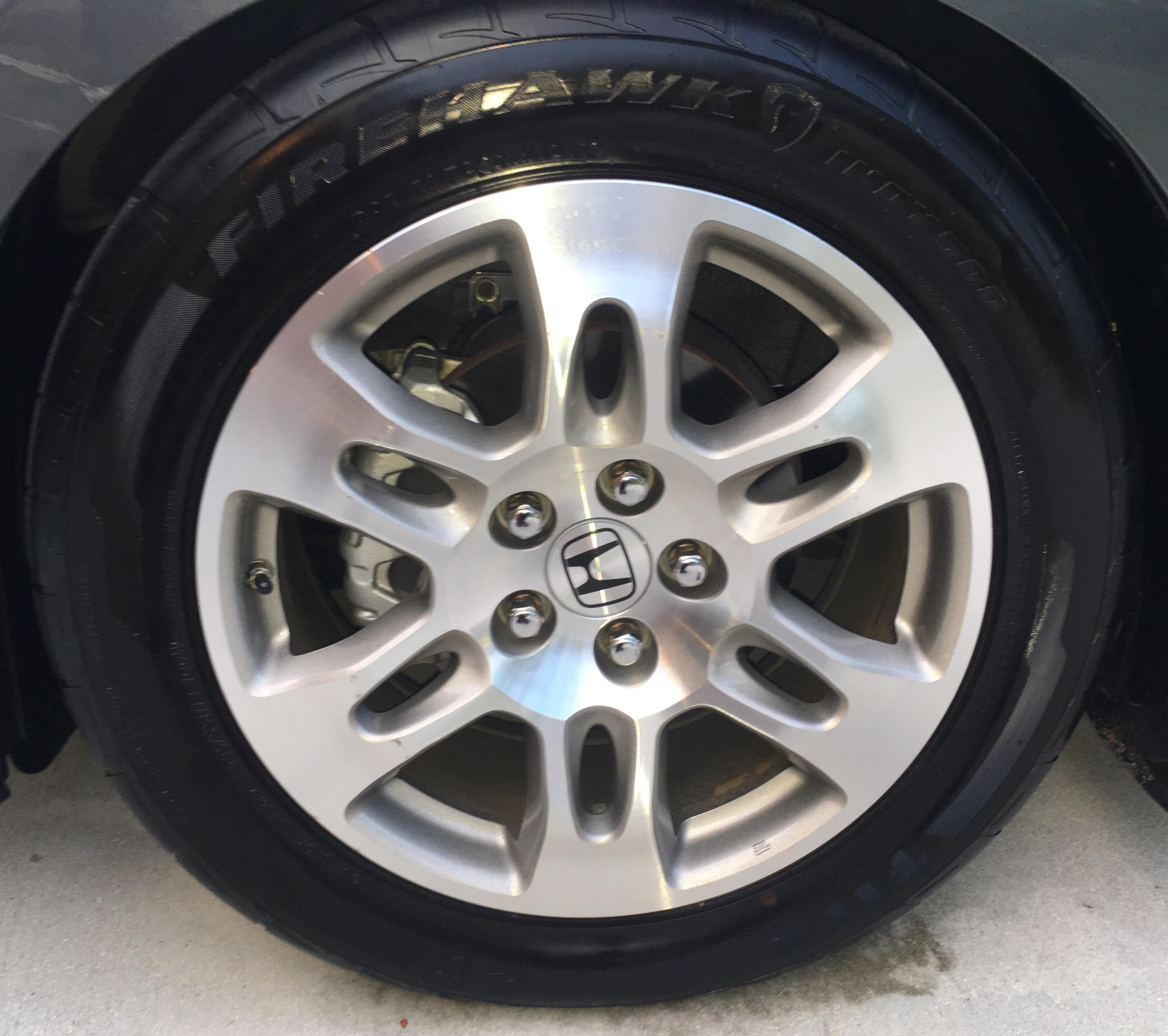 FS: MDX Wheels (NEW TIRES