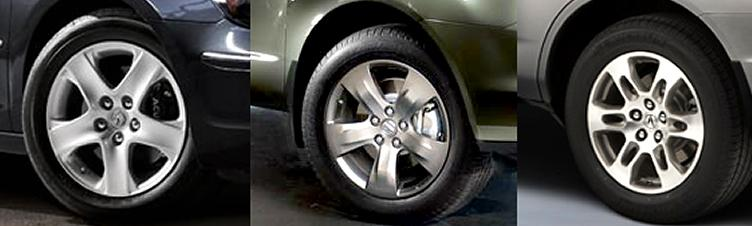 Acura MDX Sport Or Tech Wheels To Replace Stock Wheels - Acura mdx oem wheels