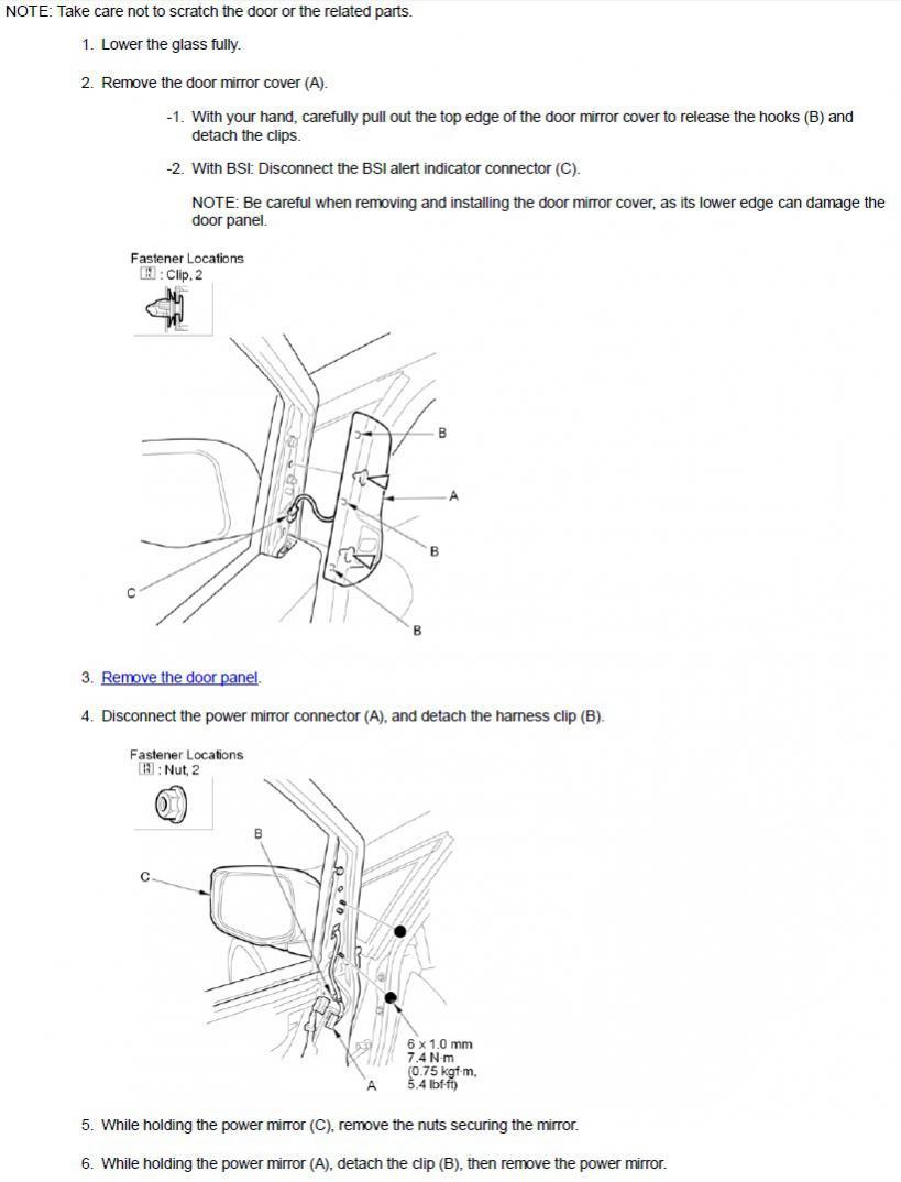 Honda Odyssey 2014 Driver Side Replacement-mirror.jpg
