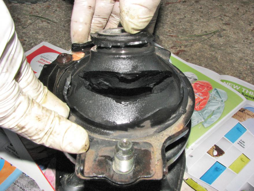 Front Motor Mount Diagnosis And Replacement