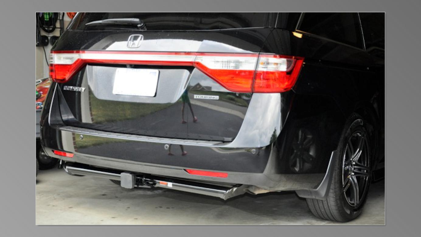Ground Clearance On Oem Hitch Receiver