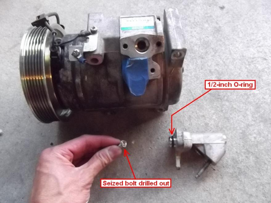 Diy 2007 Honda Odyssey Ac Compressor Replacement