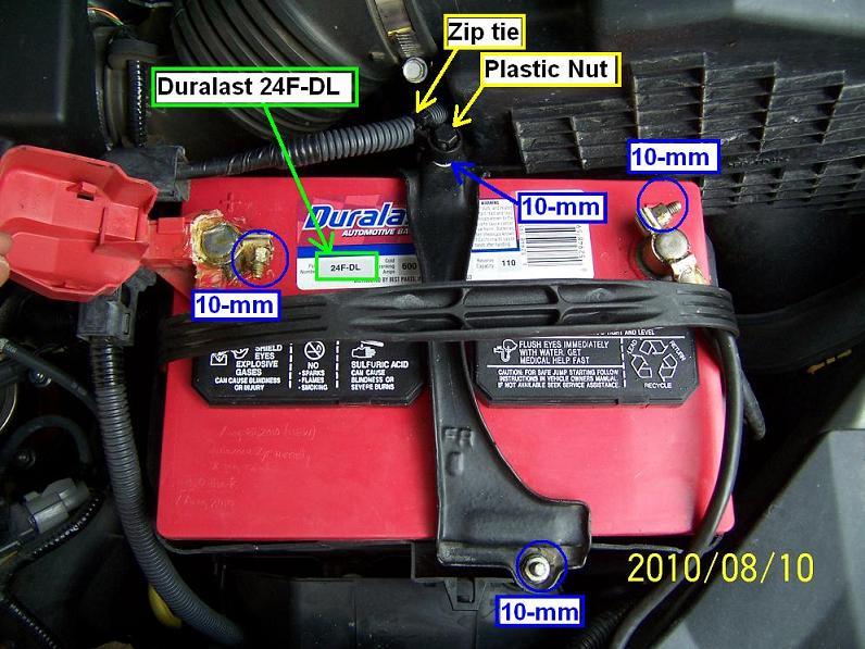 Diy 2007 Honda Odyssey Autozone Duralast 24f Dl Odybattery Jpg