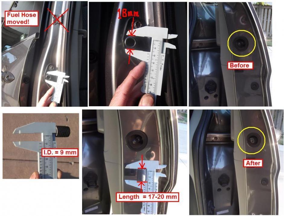 Diy Sliding Door Rattle Fix Honda Odyssey Forum