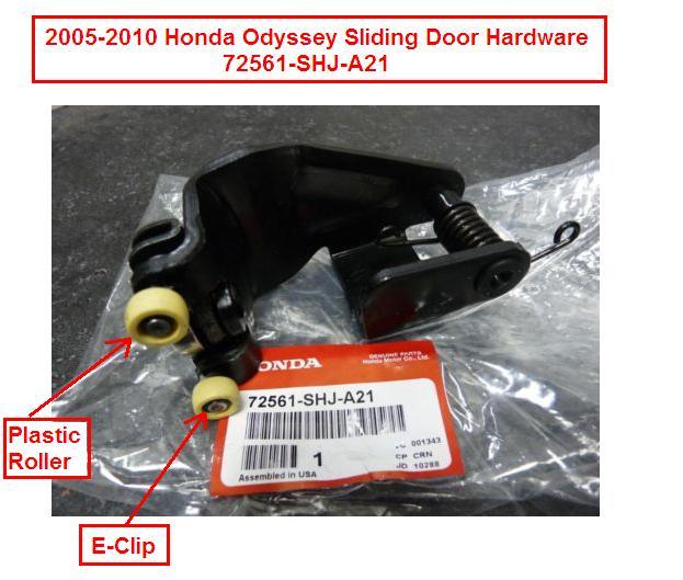 2005 Sliding Door Roller Replacement Odyslidinghdwr
