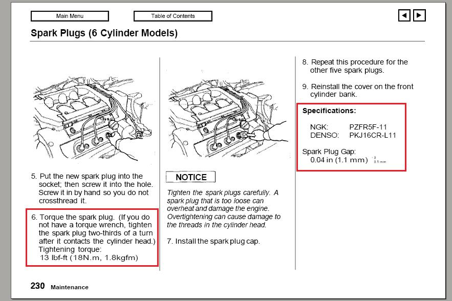 Diy 2007 Honda Odyssey Spark Plug 40k Miles