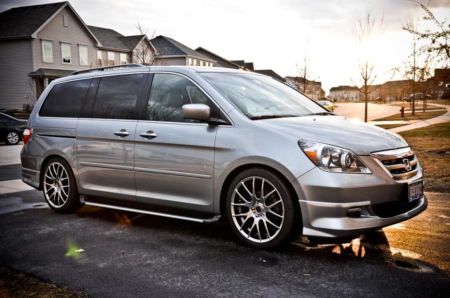 """3rd Gen Odyssey >> 20"""" Wheels and spacers"""