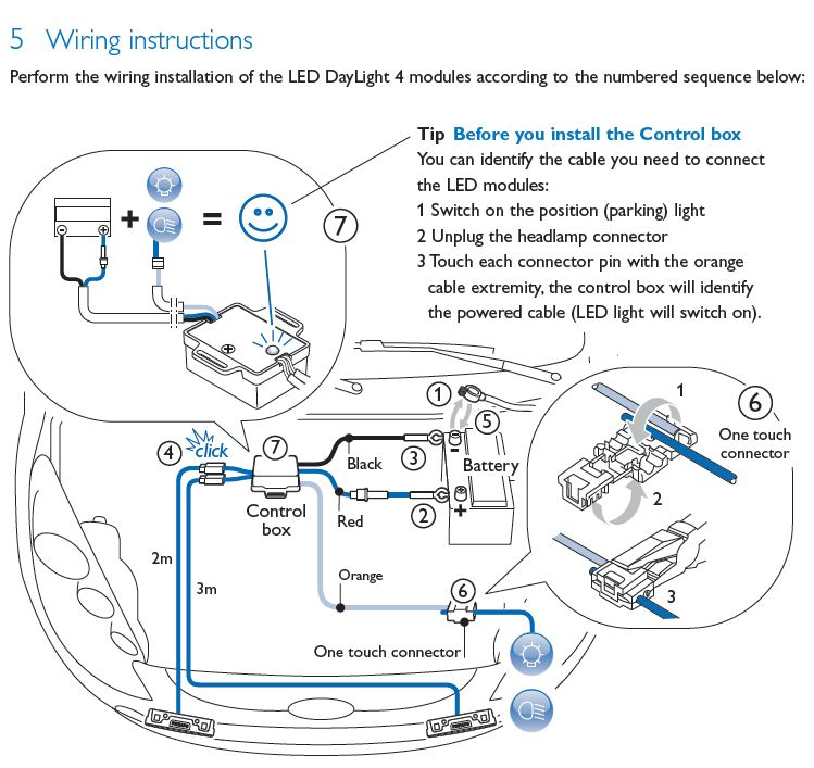 Anybody tried the Philips Luxeon LED DLR on their Ody – Led Drl Lights Wiring Schematic
