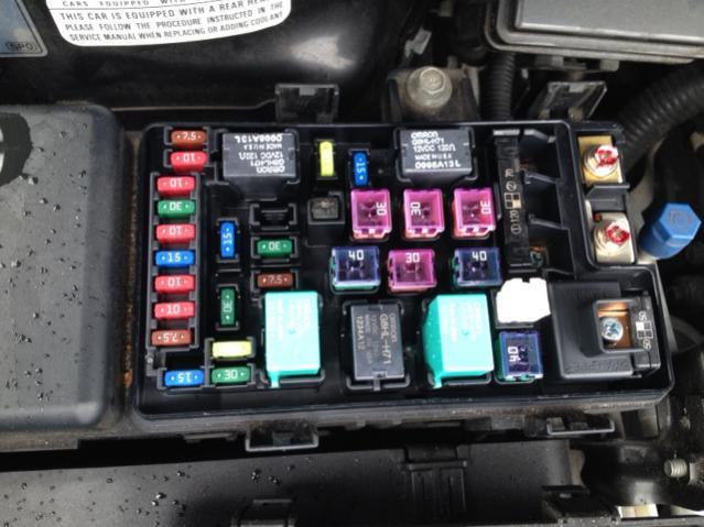 AC Relay Part Number | Honda Odyssey Forum