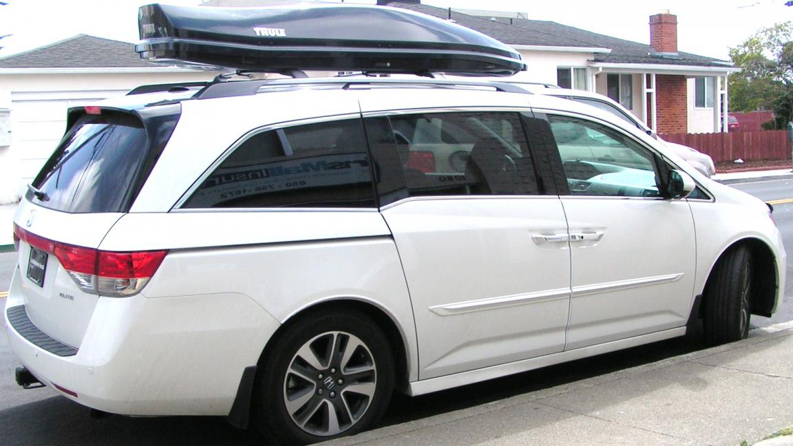 Thule Atlantis 2100 Touching The Tailgate When Fully Open Ideas Honda Odyssey Forum