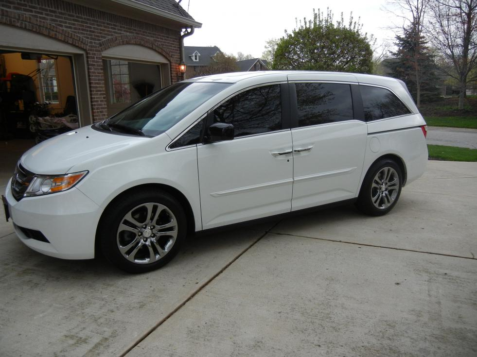 2011 Odyssey Exl With 19 Inch Chrome Mdx Wheels
