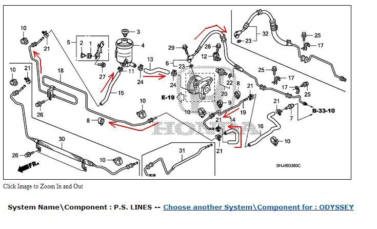 Power Steering Plete Sudden Failurerhodyclub: 2007 Honda Odyssey Air Conditioner Schematic At Elf-jo.com