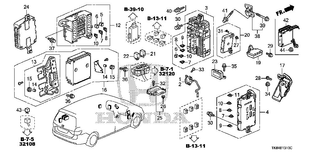 install 2001 honda odyssey engine diagram